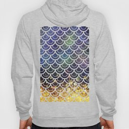 Mermaid Scales Deep Sea Sparkle Hoody