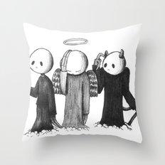 Crap Throw Pillow