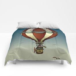 Fantastic voyage of Mr. Pig Comforters