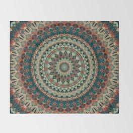 Mandala 585 Throw Blanket