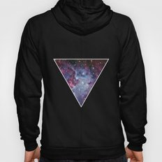 Galaxy Triangle Print Hoody