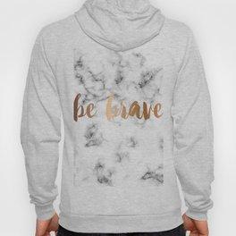 Be Brave Marble 045 Hoody