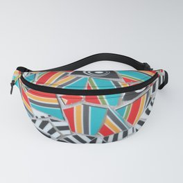 One, Two, Many Stripes Fanny Pack