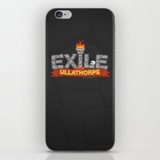 Exile From Ullathorpe - Our Logo iPhone & iPod Skin