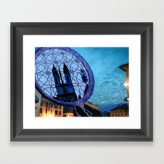 Piazza di Spagna, Roma Framed Art Print