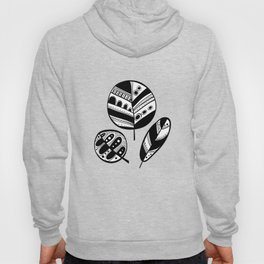 Graphical fall of the leaves Hoody