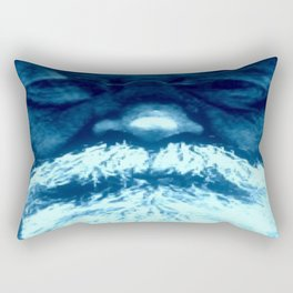 Sure Feels Like The Blues Rectangular Pillow