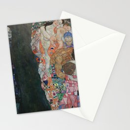 Life and Death - Gustav Klimt Stationery Cards