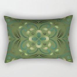 Green Romance Rectangular Pillow