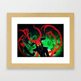 Unfolding 10 Framed Art Print