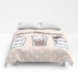 Meow Milkshakes Party Comforters