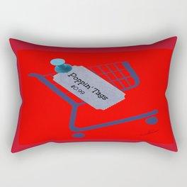 Poppin Tags-Thrift Shop Song-Macklemore Rectangular Pillow