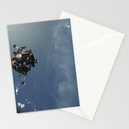 Apollo 9 - Lunar Module Over Earth Stationery Cards