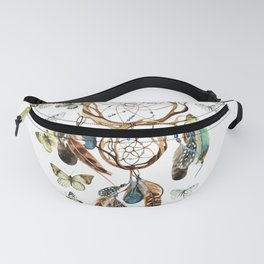 Butterfly Dream Catcher Fanny Pack