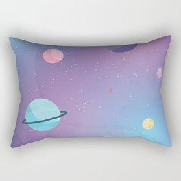 Pastel galaxy Rectangular Pillow