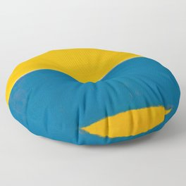Untitled (Yellow and Blue) by Mark Rothko HD Floor Pillow
