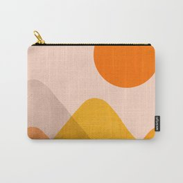 Abstraction_Mountains_02 Carry-All Pouch
