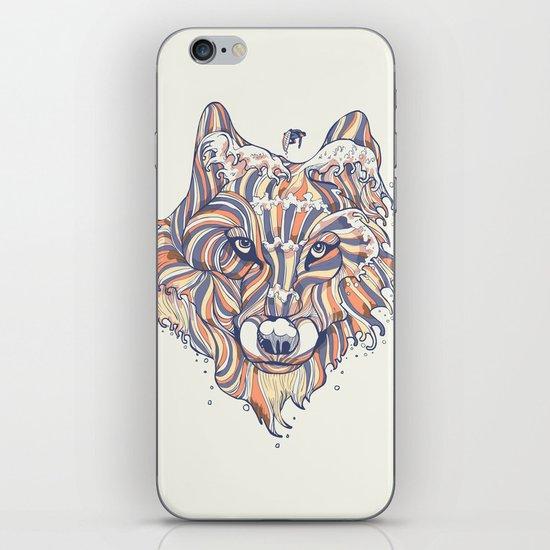 Wave Wolf iPhone & iPod Skin