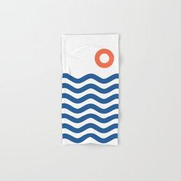 Nautical 02 Seascape Hand & Bath Towel