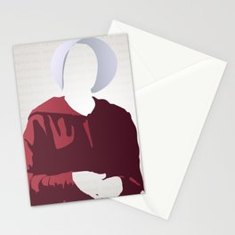 Nolite Te Bastardes Carborundorum Offred Stationery Cards
