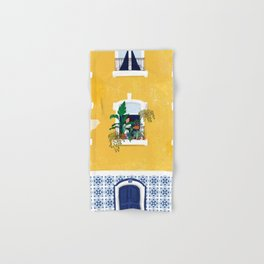 Lisbon girl Hand & Bath Towel