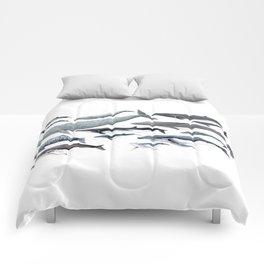 Whale diversity Comforters