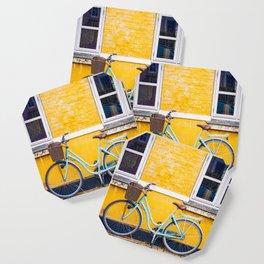 Bike and yellow Coaster