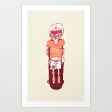 It's All Going Downhill From Here Art Print