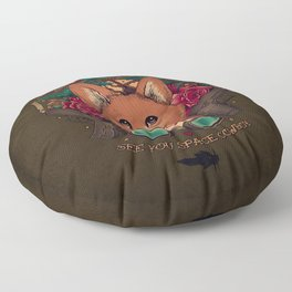 See You Space Cowboy Floor Pillow