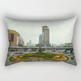 Garden Roundabout Rectangular Pillow