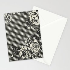 ROSE DOTS CREME Stationery Cards