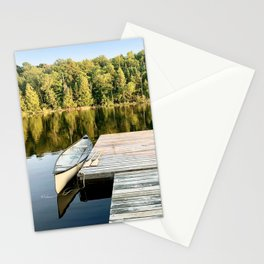 Dock on the Lake Stationery Cards