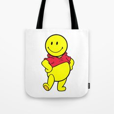 SMILEY-POOH Tote Bag