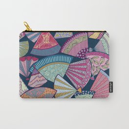 Multicoloured fans Carry-All Pouch