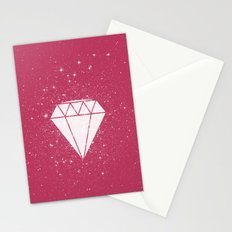 Space Diamond  Stationery Cards