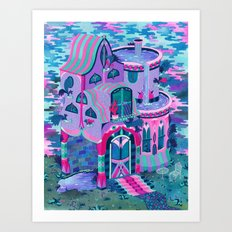 Bertram's House Art Print