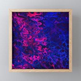 Blacklight Framed Mini Art Print