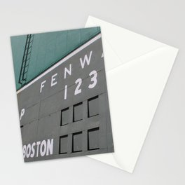 Fenwall -- Boston Fenway Park Wall, Green Monster, Red Sox Stationery Cards