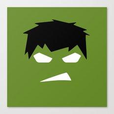 The Hulk Superhero Canvas Print
