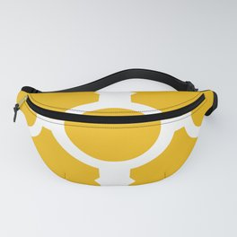 Chain Link Yellow Fanny Pack