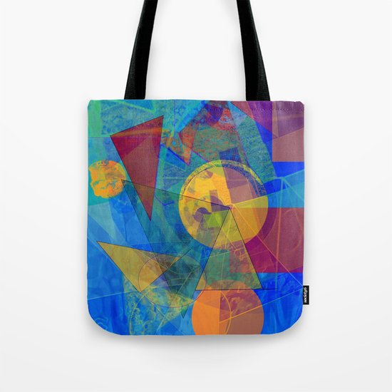 Modern Abstract Tote Bag