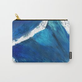 Wolf in the Wave Carry-All Pouch