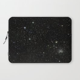 Universe Space Stars Planets Galaxy Black and White Laptop Sleeve