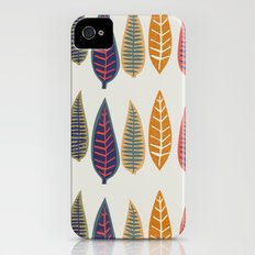 falling leaves Slim Case iPhone (4, 4s)