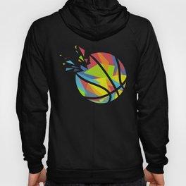 Basketball Explosion Triangle Hoody
