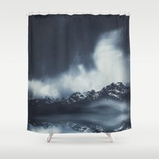 everlasting mountains Shower Curtain