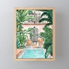Moroccan Dream Framed Mini Art Print