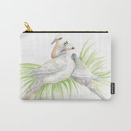 Two Turtledoves Carry-All Pouch