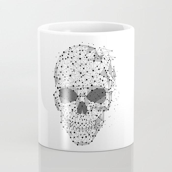 Super cool Skull Molecules Coffee Mug