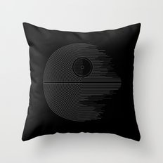 Minimalist Battlestation Throw Pillow